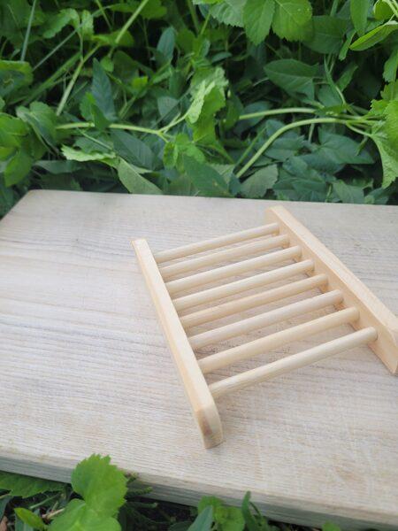 Bambusa ziepju trauks